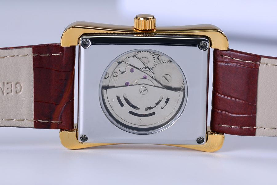Clock Rectangular Brand Roman 9