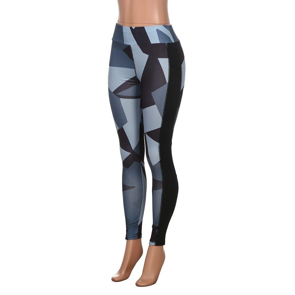 Fitness Leggings Camo: Women Yoga Pants Leggings Elbows Fitness Tights Women