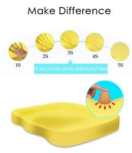 Image 5 - Подушка PurenLatex 45*35 из пены с эффектом памяти для кресла, тонкая подушка, подушка с медленным восстановлением бедер, коврик для ортопедической подушки для поясницы