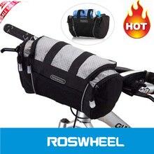 Roswheel 5L сумка для велосипеда на руль Велосипедный спорт передняя Труба карман плечо пакет для верховой езды Велоспорт поставки дорожный велосипед горны