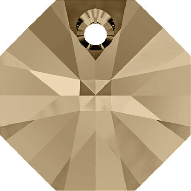 (1 pieza), cristal de Swarovski 100% ORIGINAL, HECHO EN Austria octogonal 6401, cuentas sueltas de diamantes de imitación para hacer joyería DIY