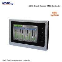 Светодио дный диммер контроллер DMX500 Сенсорный экран DMX главный контроллер DMX 36CH DMX сигнала Выход для RGB полосы эффект освещения