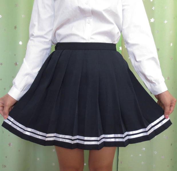 Vajza japoneze e shkollës së mesme kawaii bukur kawaii klasik - Veshje për femra - Foto 2