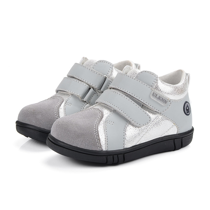 Mudibear 2018 Boys Sport Shoes For Baby Girls Sneakers Children Genuine Leather Shoes Kids School Casual Sneakers Toddle Shoe 27