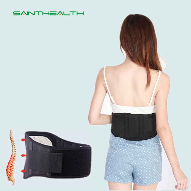 Warm Adjustable Waist Tourmaline Self heating Magnetic Therapy Back Waist Support Belt Lumbar Brace Massage Band Health Care treatment injury keep warm prevention men health care waist belt function lumbar brace