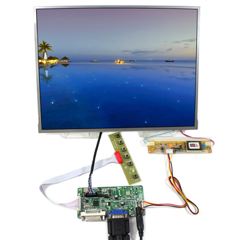 DVI VGA lcd controller board RT2281 with 13.3inch L5F30515P00 AG133ZJ 1024x768 LCD panel