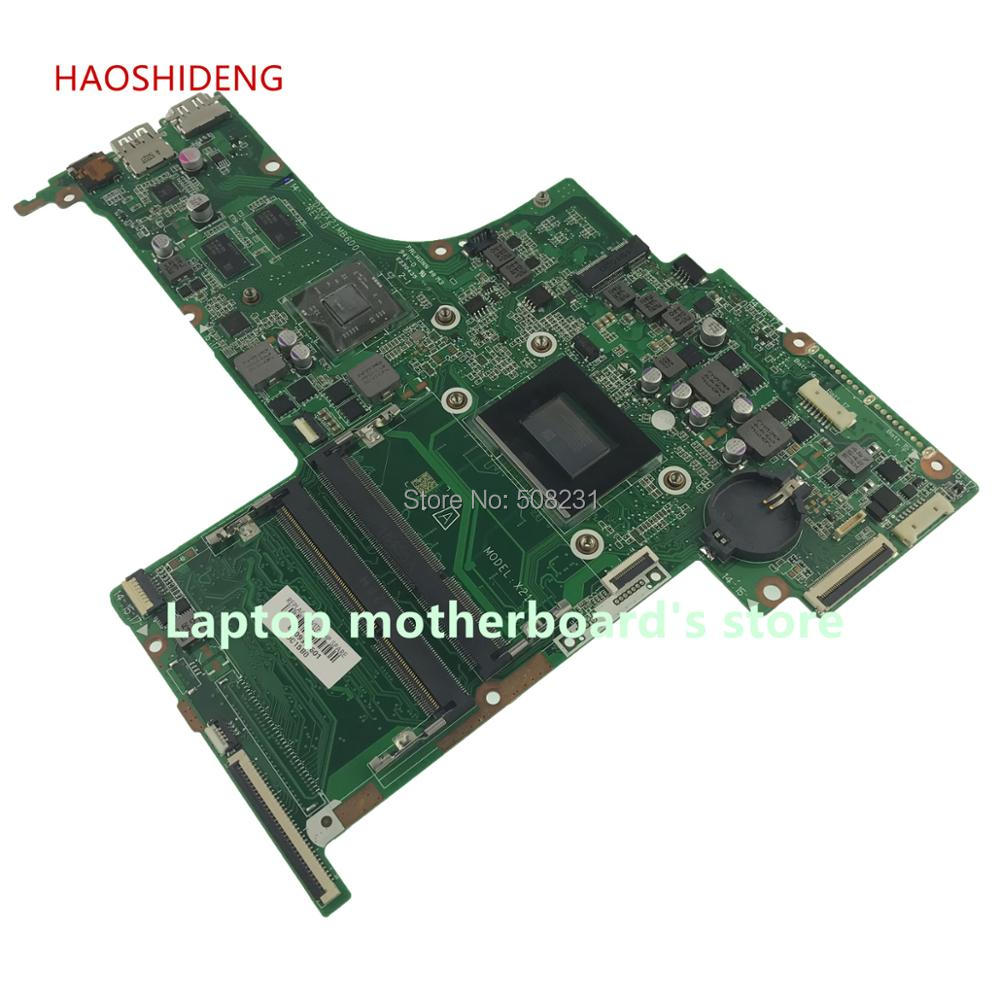 HAOSHIDENG 810936-601 X21 DA0X21MB6D0 for HP PAVILION 17-G 17Z-G motherboard 810936-001 with A10-8700P fully Tested haoshideng 809985 601 809985 001 laptop motherboard for hp pavilion 17 p 17z p notebook day21amb6d0 a76m a10 7300 fully tested