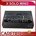 5 pc X Solo mini Sintonizador 3 Gêmeo Receptor de Satélite DVB-S2 DVB-C/T2 Combo Enigma2 Sistema Linux com suporte Slot de CA Hbbtv, YouTube