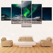 Natural 5 Piece HD Print Painting Modern Decor Picture Poster Landscape Wall Art Canvas Living Room