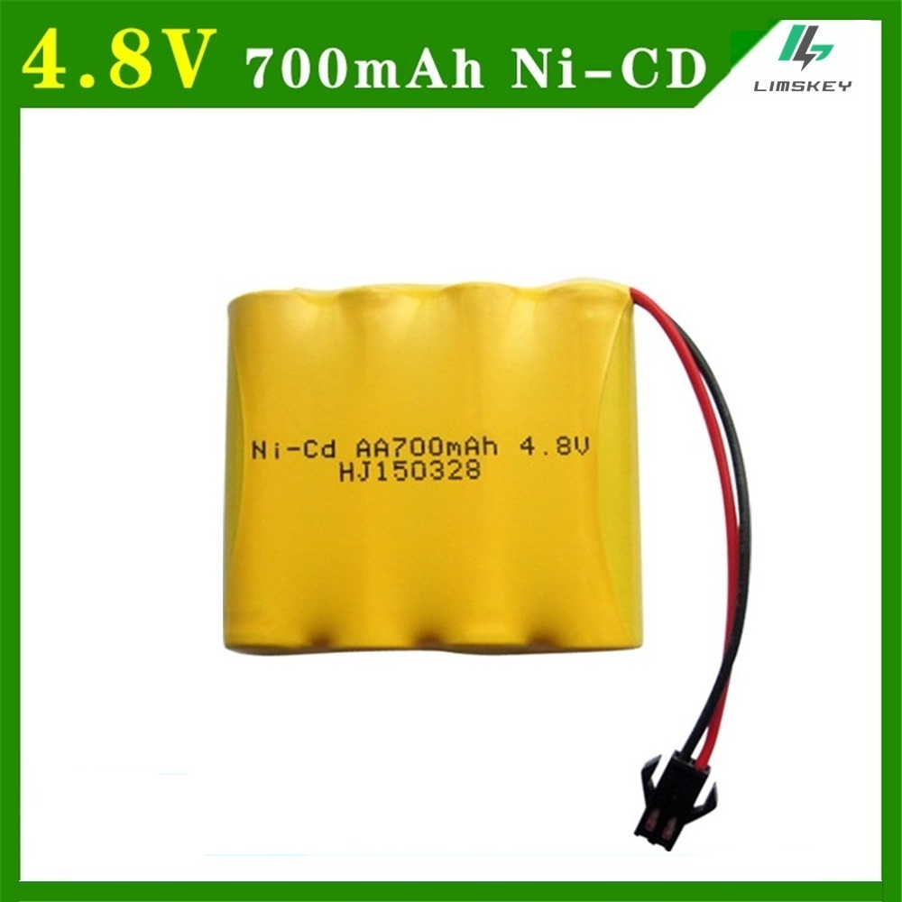 10pcs/lot 4.8V 700mAh Remote Control Toys Electric toy security facilities electric toy 4.8 v NI-CD AA battery battery group