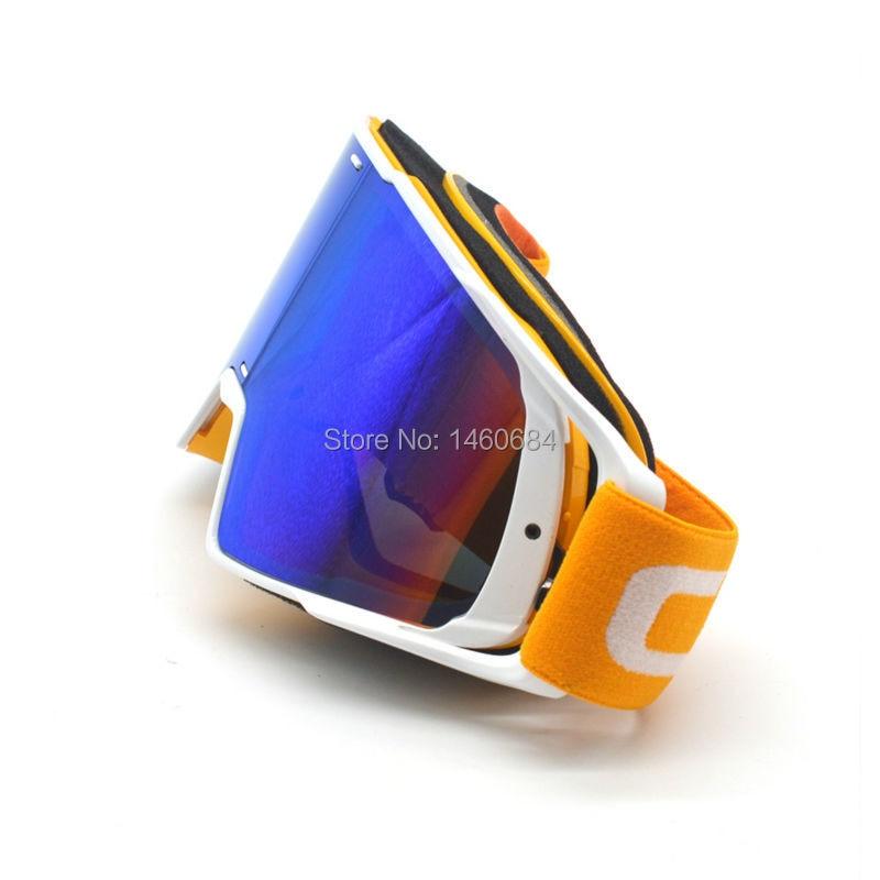 Motocicleta Gafas protectoras Deportes al aire libre A prueba de viento A prueba de polvo Anteojos Esquí Snowboard Gafas Motocross Google