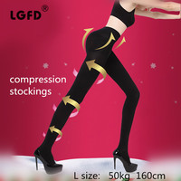 Female Medical Elastic Stockings For Varicose Veins Barreled Anti Varicose Fat Burning Stovepipe Pants