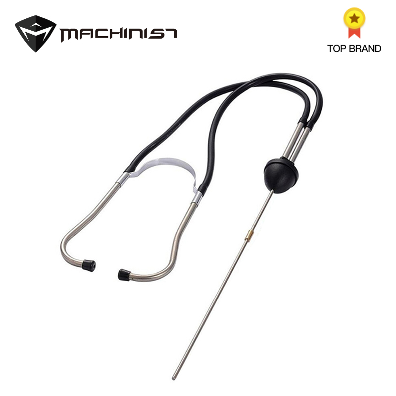 1pc Professional Auto Mechanics Stethoscope Car Engine Block Diagnostic Tool Cylinder Automotive Hearing Tools For Car