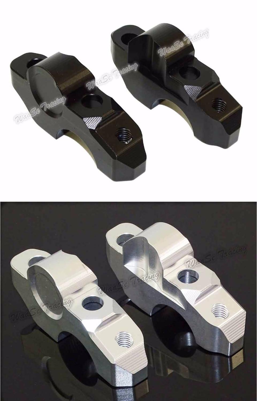waase Handlebar Riser Up Backs Moves Bracket Kit For BMW S1000R 2014 2015 waase motorcycle 2 pcs handlebar riser up 25mm backs moves 20mm bracket kit for bmw s1000r s 1000 r 2014 2015 2016