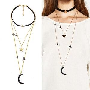 Black Velvet Choker Necklaces