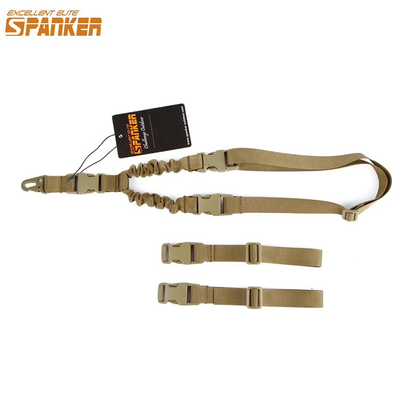 EXCELLENT ELITE SPANKER Tattiche outdoor Dual Guns Pistole militari con accessori da caccia Regolabile Air Gun Cordino Telescopico