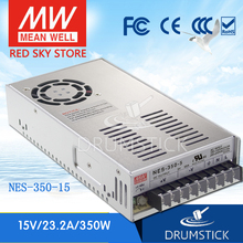 цена на Redsky [freeshipping02] MEAN WELL original NES-350-15 15V 23.2A meanwell NES-350 348W Single Output Switching Power Supply