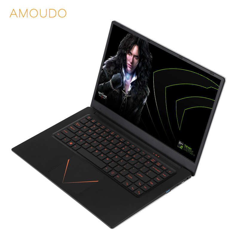 15.6 pouces 1920*1080 p FHD Ordinateur Portable De Jeu Nvidia 940 m 6 gb RAM 128 gb/256 gb /512 gb SSD Intel Quad Core CPU Ordinateur Portable