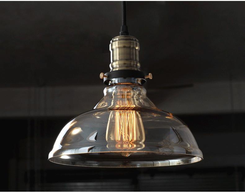 Deckenleuchten Retro Vintage Industriellen Stil Edison Glas Deckenleuchte Lampe Fr Schlafzimmer Wohnzimmer E27 Wohnkultur Dekoration