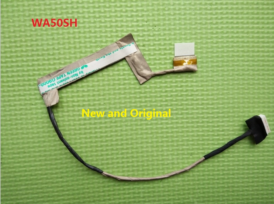 Laptop LCD Cable For CLEVO WA50SH EDP 6-43-WA501-021-1N/W860CU 6-43-W8601-030 12 11 20 10 laptop lcd cable for clevo m765su m760s 15 4 6 43 m76s1 011 w540eu 6 43 w5501 010 c 30pin