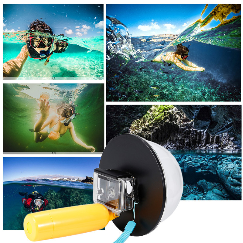 Dome Port Cover Underwater Photography Diving Shell for GOPRO HERO3 / 3 + / 4 Camera Mounting Accessories new release 6 underwater t03 dome port diving lens photography dome port for the gopro hero3 3 4 t03 dome port