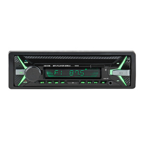 Image 2 - HEVXM 1010 car MP3 playe 1Din 12V Car multi function MP3 player, FM radio  USB Flash Disk player  AUX player