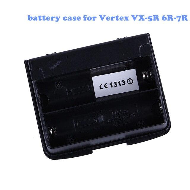 Yaesu FBA-23 battery case Tray 2 x AA for Vertex VX-5R 6R-7R VX-710 Support 2 AA ALKALINE Battery Two Way Radio Walkie Talkie