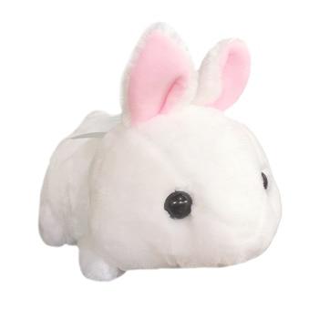 цена на 1pc 45cm Amuse Sitting Kneeling Rabbit Plush Toys for Children Japanese Soft Plush Rabbit Baby Stuffed Animals Rabbit Gifts