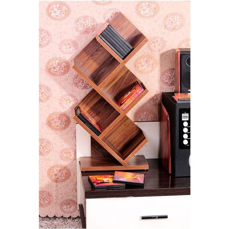 Us 113 99 2018 Hot Prateleira Cd Shelf Storage Disc Rack Tv Cabinet Decoration Decorative Frame Desktop Video 5 Layer Living Room In Holders