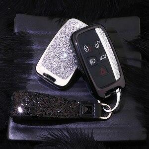 Image 2 - Чехол для ключей с искусственным кристаллом, защитный чехол для Land Rover A9 Range Rover Sport Evoque Freelander 2 Jaguar