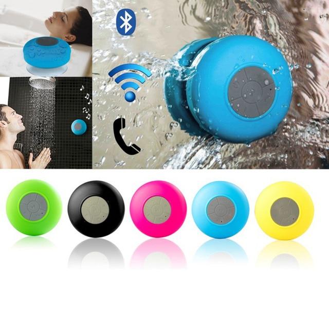 Сабвуфер душ Водонепроницаемый Беспроводной Bluetooth Динамик для телефона Водонепроницаемый Bluetooth Динамик мини Радио Портативный колонка