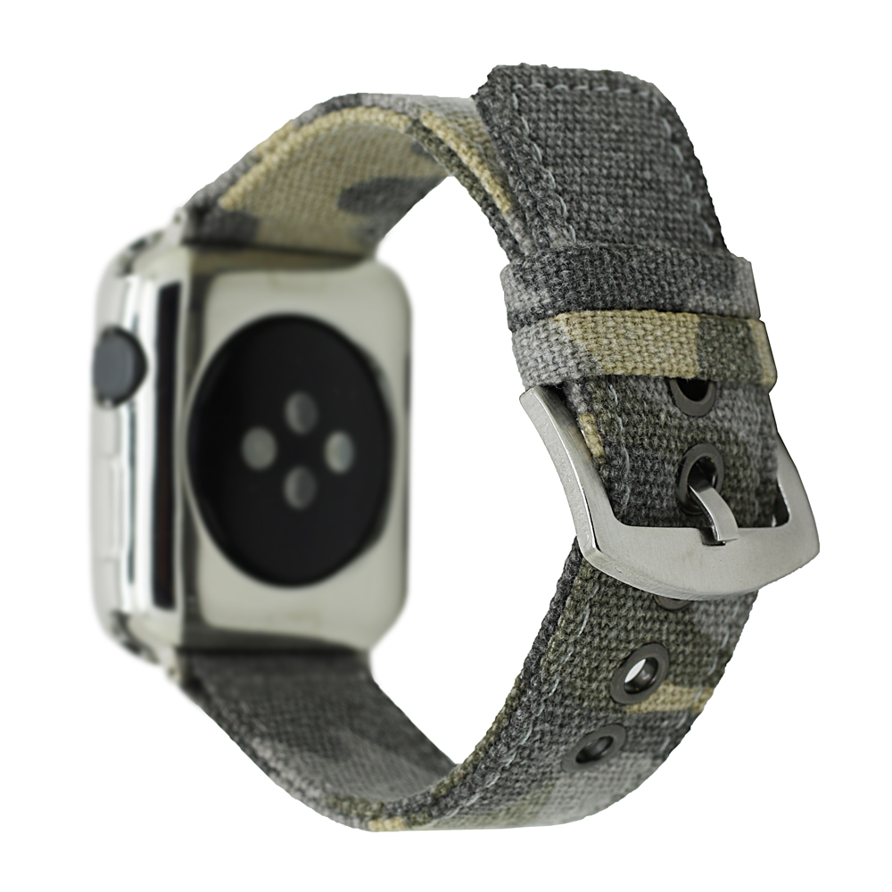 Camouflage Army Green Nylon Band for Apple Watch 38/40mm 42/44mm Series 1 2 3 4 Sports Outdoors iwatch Strap Belt Bracelet I271. gazelle outdoors зеленый 3 4