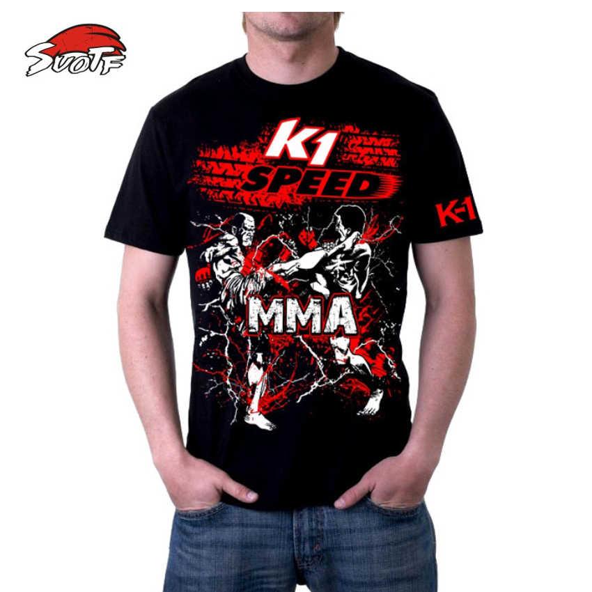 Suotf Buakaw K1 MMA Muay Thai Tinju Pukulan Lutut Sweatshirt Muay Tinju Celana Pendek Anak Nakal MMA Tiger Muay Thai Dunia tank Boxeo