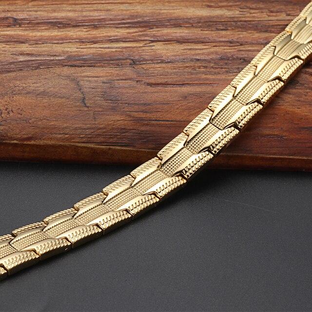 Купить браслеты welmag 4 в 1 мужские магнитные ювелирные изделия из