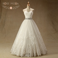 Rose Moda Sweetheart 3D Laces Quinceanera Dresses Lace Up Back Crystal Sash Princess Debutante Dress Formal Debs Dresses