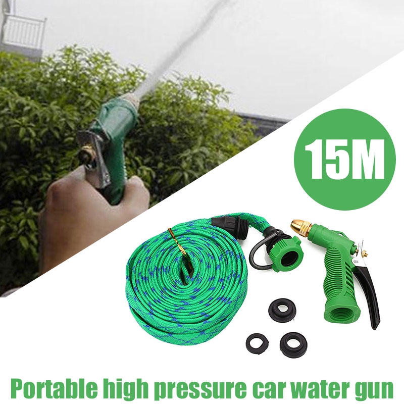 Cleaning Water Gun Portable Tools Cars Cleaning Home 15m Nozzle Car Washing Water Gun Garden Spray Water Gun line art