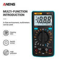 ANENG M1 DIY Digital-Multimeter esr meter multimetro tester true rms digital-multimeter tester multi meter richmeters dmm 400a
