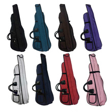 More Colors Violin Soft Case 4/4 A Make Violino Velvet Box Backpack Waterproof Canvas Safety Light Protection Gig Fiddle