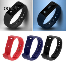 OOTDTY Smart Watch Strap Replacement TPU Band Strap Wristband For Iwown i5 plus Sports Smart Bracelet