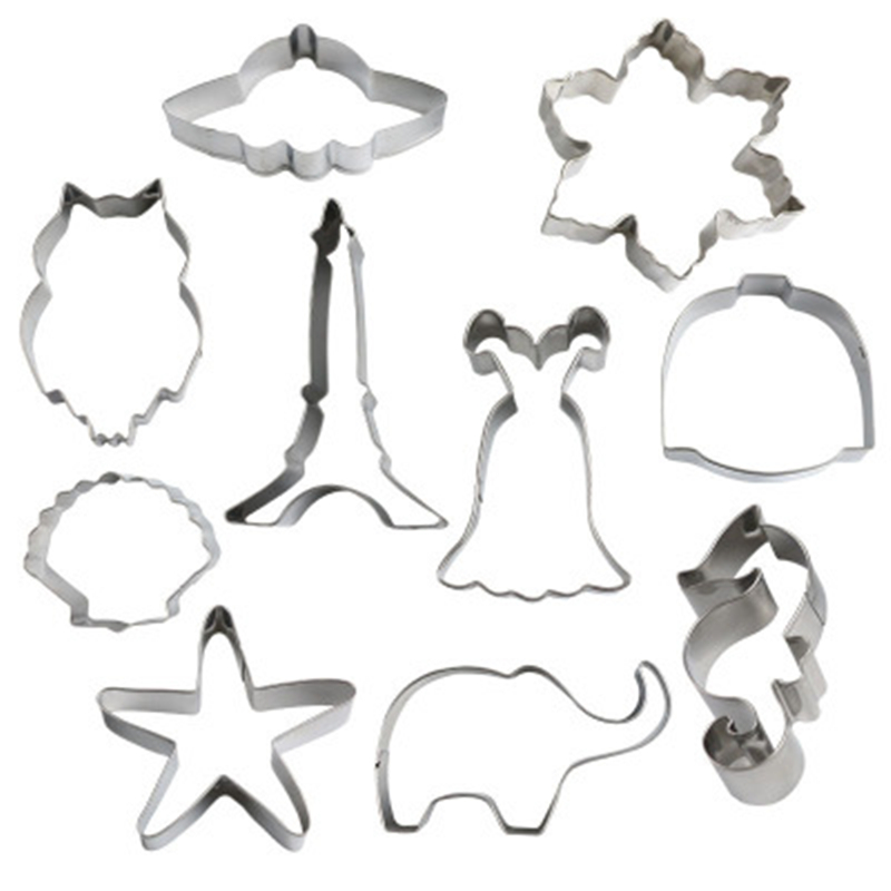 Rainbow Shape Cookie Cutter Stainless Steel Fondant Mold Cake Decorating ToUPTH