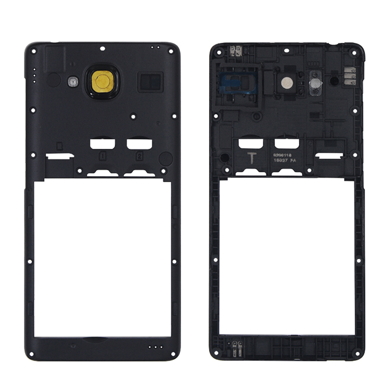 Netcosy For Xiaomi Redmi 2 Middle Frame Bezel Housing Cover Repair Parts For Xiaomi Redmi Note 2 Mid Plate Chassis Panel Case