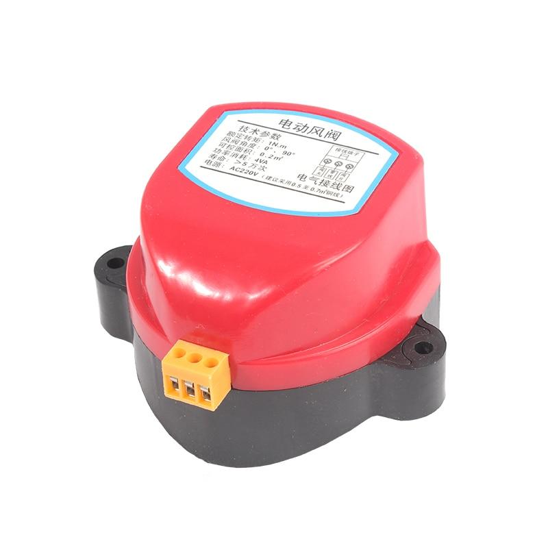 Actuator for Air damper valve 220V AC24V DC24V electric air duct motorized  damper for ventilation pipe valve