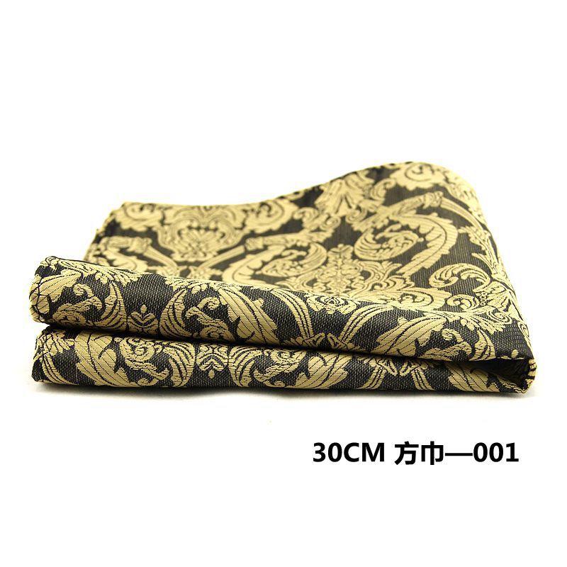 Mantieqingway Brand Men'S Pocket Square Handkerchiefs Paisley Dot Square Towel Casual Pocket For Men Suit Hanky Chest Towel
