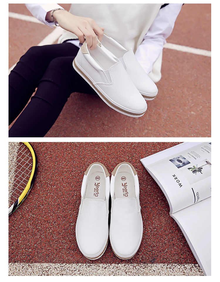 ฤดูใบไม้ผลิฤดูร้อนรองเท้าผู้หญิงรองเท้าแบนออกแบบรองเท้าฤดูใบไม้ร่วงผู้หญิงลื่นบนรองเท้าสุภาพสตรีรองเท้า Tenis Feminino