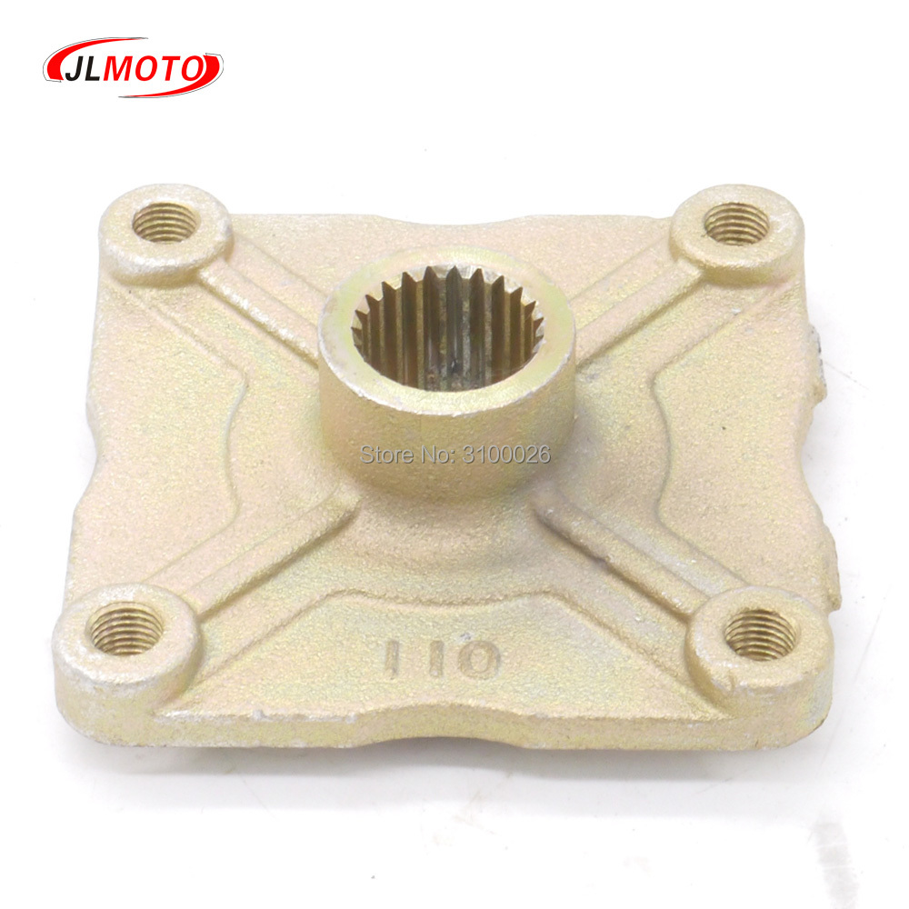 23T 110*4 STUD M10 Rear Wheel Hub Fit For China Chinese ATV 110cc 125cc 150cc Go Kart Golf Cart Buggy Quad Bike Parts