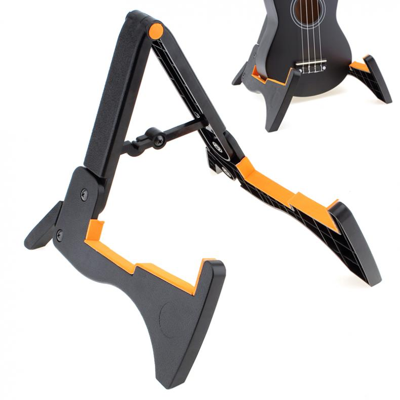 Smart Size Foldable Musical Instrument Stand Holder for Guitar / Violin / Ukulele / Mandolin
