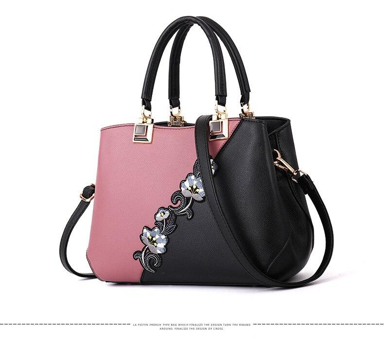 18 New women Handbags Fashion leather handbags Shoulder Bag women top-handle bags 5