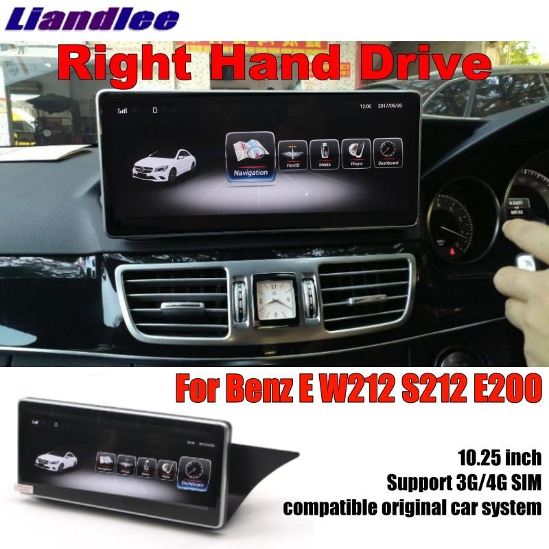 For Mercedes Benz MB E Class W212 S212 2009~2016 Right Hand Drive Liislee Car Multimedia Player NAVI Stereo GPS Navigation laijie wireless car camera for mercedes benz e class w212 s212 c207 2009 2012 auto reversing parking camera hd ccd ntsc pal