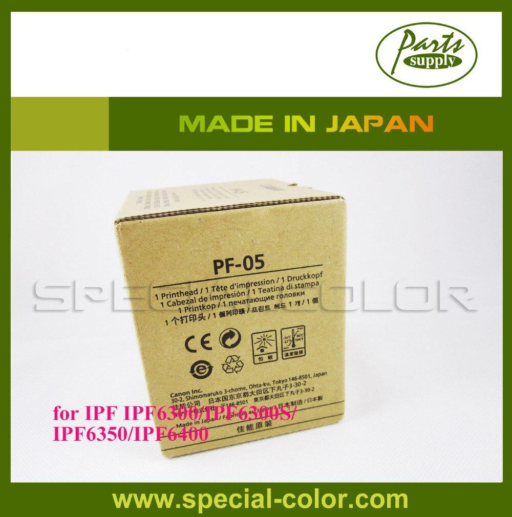 Original PF-05 Printhead IPF6400SE Print Head for Canon IPF6300S/IPF6350/IPF6400,/IPF6400S/IPF6410 new and hot print head reading machine for canon pf04 for canon 650 655 750 755 printhead for canon pf 04