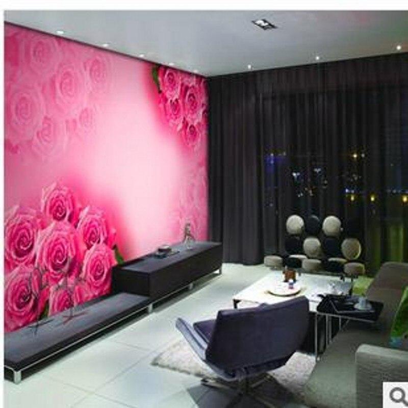 rode rozen behang-koop goedkope rode rozen behang loten van, Deco ideeën